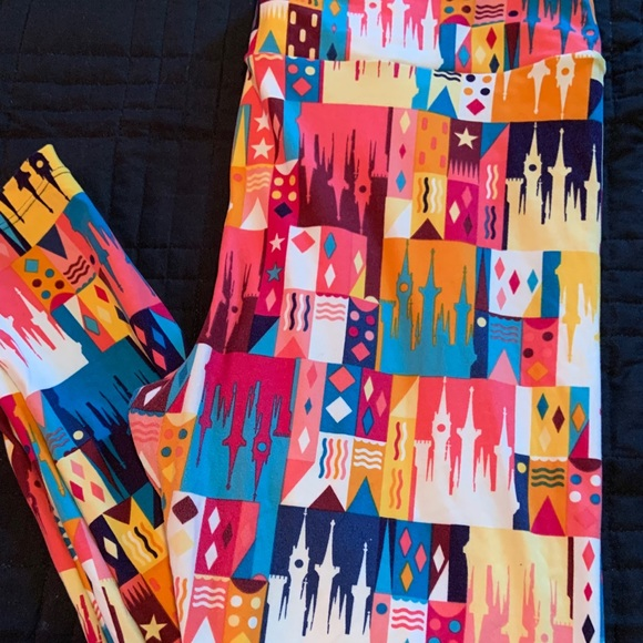 LuLaRoe Pants - Disney Castle Leggings TC - LuLaRoe